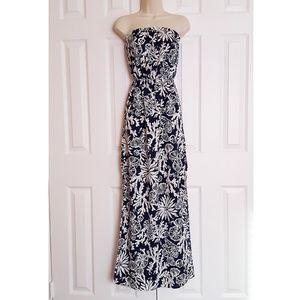 EUC Lilly Pulitzer Emmett Strapless Maxi Dress